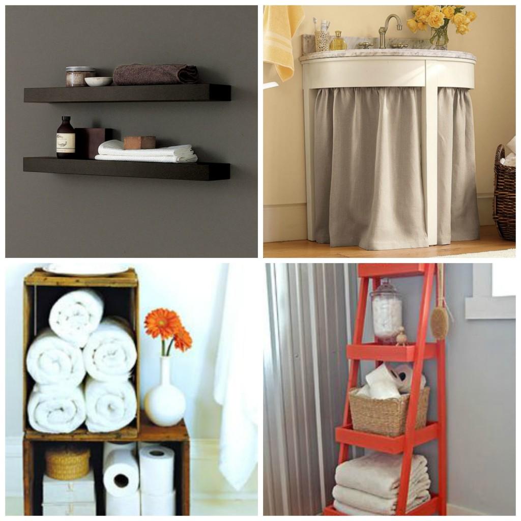 etajere, draperie, cutii, scara baie